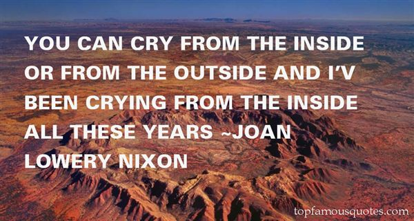 Joan Lowery Nixon Quotes