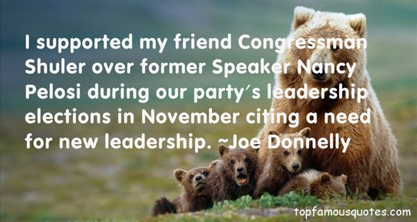 Joe Donnelly Quotes