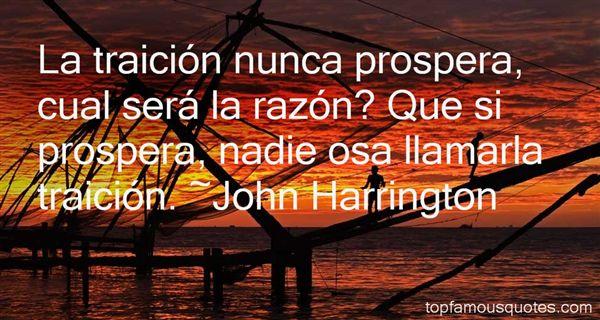 John Harrington Quotes