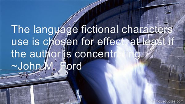 John M. Ford Quotes