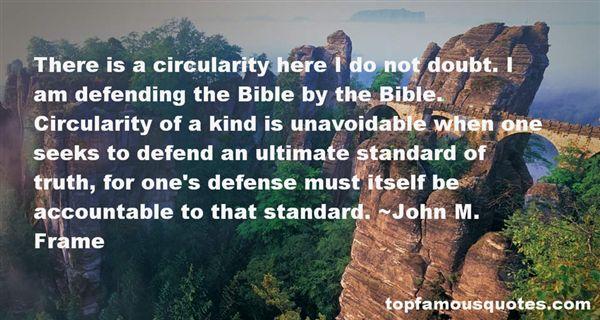 John M. Frame Quotes