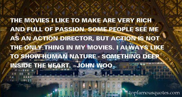 John Woo Quotes