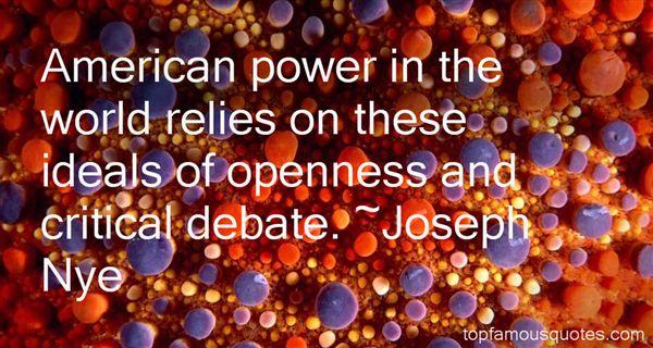 Joseph Nye Quotes