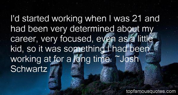 Josh Schwartz Quotes