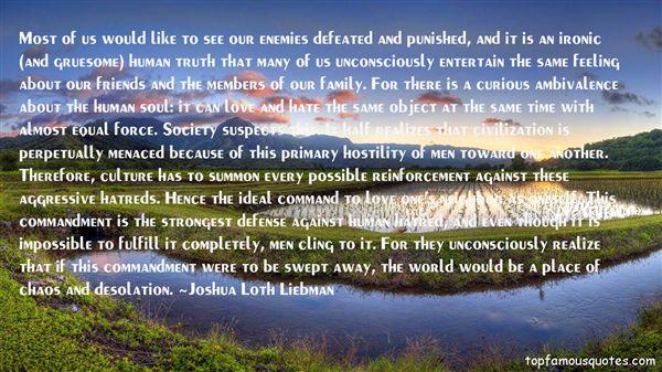 Joshua Loth Liebman Quotes