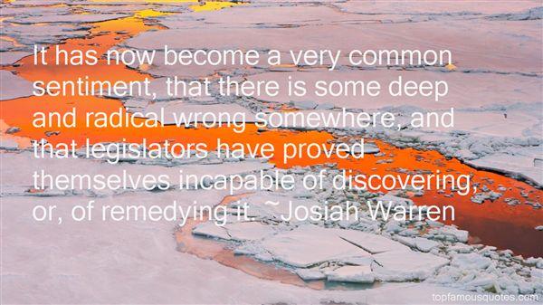 Josiah Warren Quotes