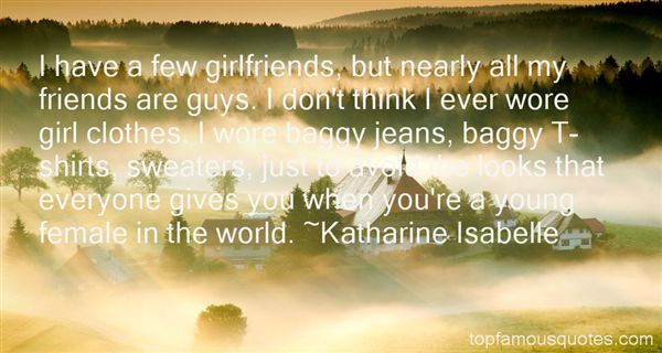 Katharine Isabelle Quotes