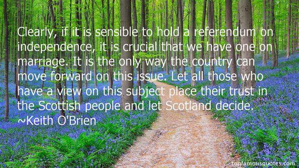 Keith O'Brien Quotes