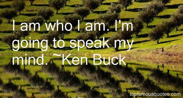 Ken Buck Quotes
