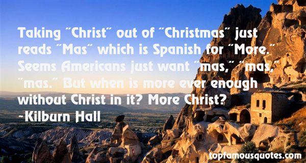 Kilburn Hall Quotes