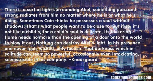 Knausgaard Quotes