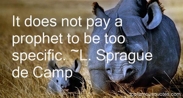 L. Sprague De Camp Quotes