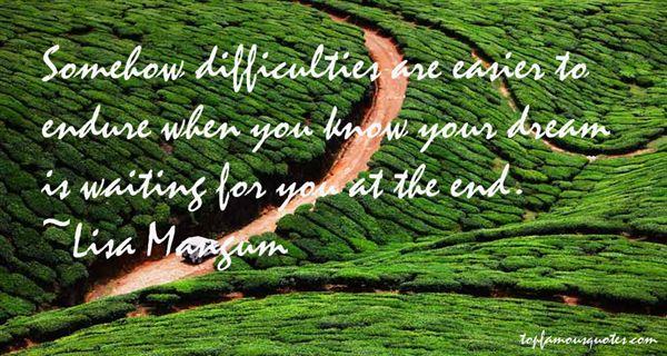 Lisa Mangum Quotes