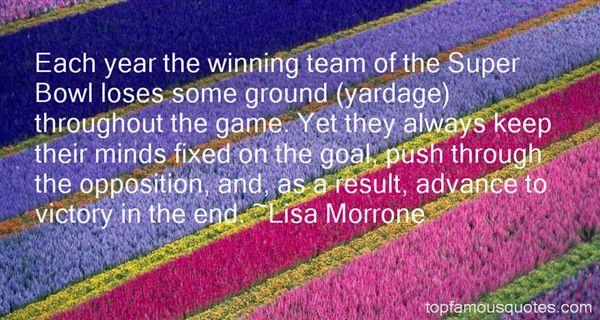 Lisa Morrone Quotes