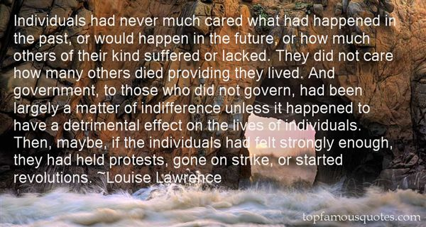 Louise Lawrence Quotes