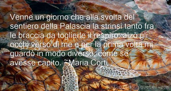 Maria Corti Quotes