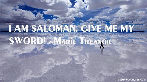 Marie Treanor Quotes
