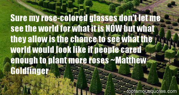Matthew Goldfinger Quotes