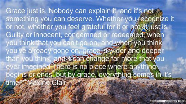 Maxine Clair Quotes