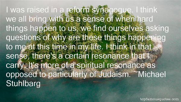 Michael Stuhlbarg Quotes