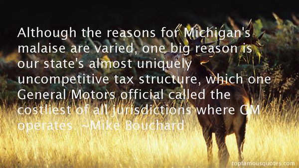 Mike Bouchard Quotes