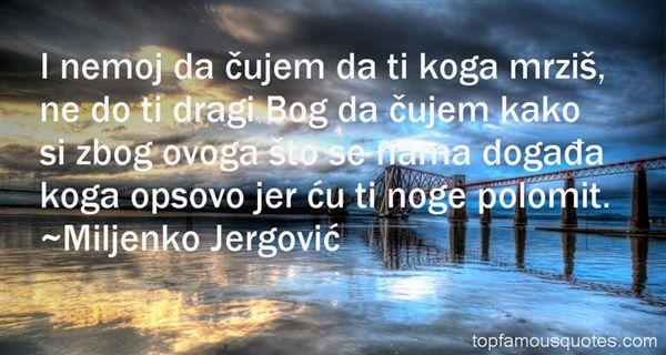 Miljenko Jergović Quotes