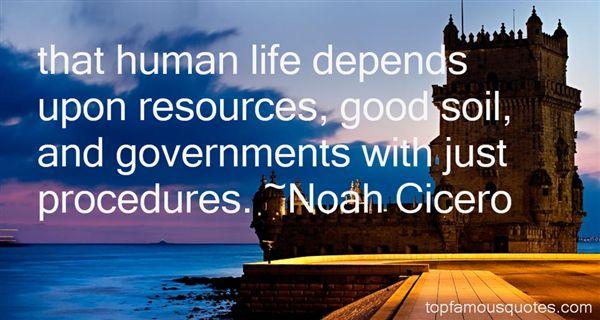 Noah Cicero Quotes