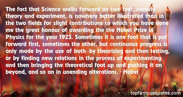 Nobel Quotes