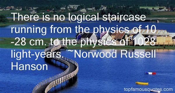 Norwood Russell Hanson Quotes