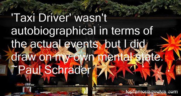 Paul Schrader Quotes