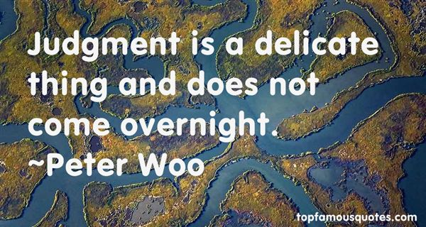 Peter Woo Quotes
