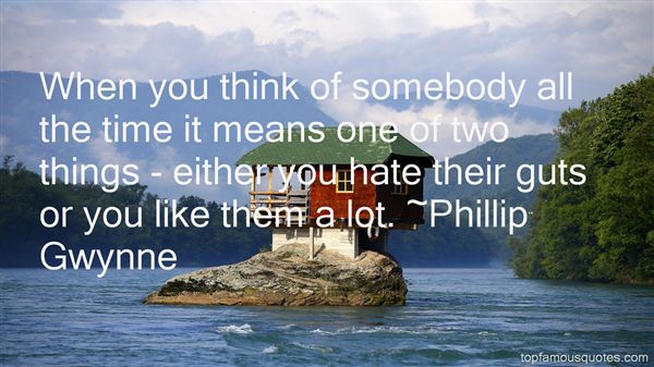 Phillip Gwynne Quotes