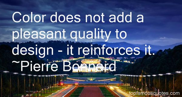 Pierre Bonnard Quotes