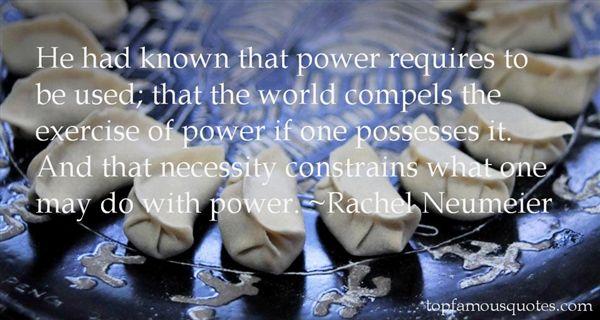Rachel Neumeier Quotes