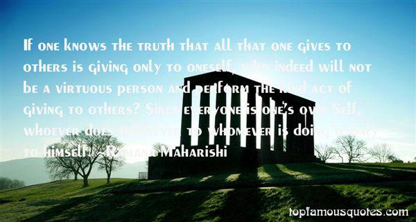 Ramana Maharishi Quotes