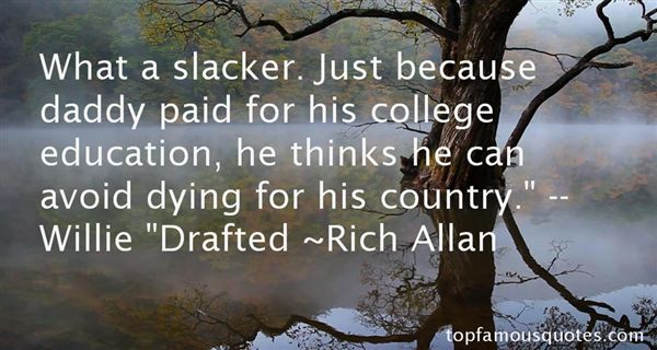 Rich Allan Quotes