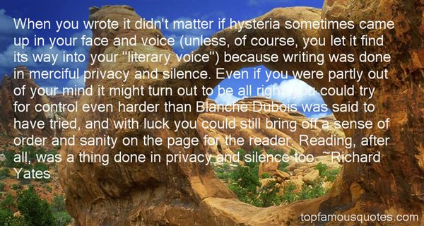 Richard Yates Quotes