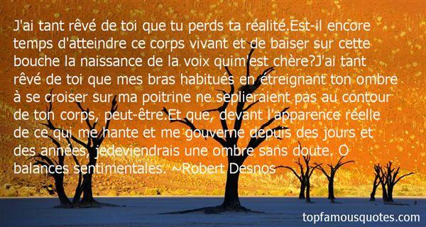 Robert Desnos Quotes