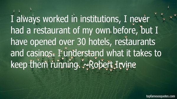 Robert Irvine Quotes