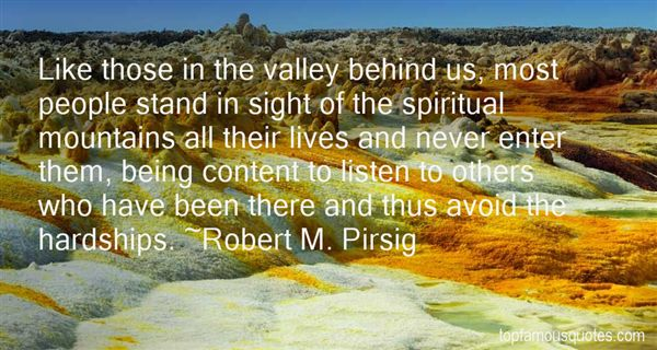 Robert M. Pirsig Quotes