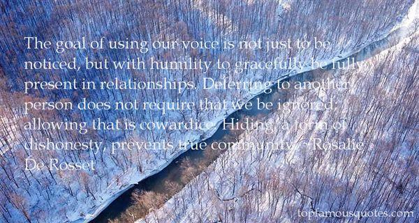 Rosalie De Rosset Quotes