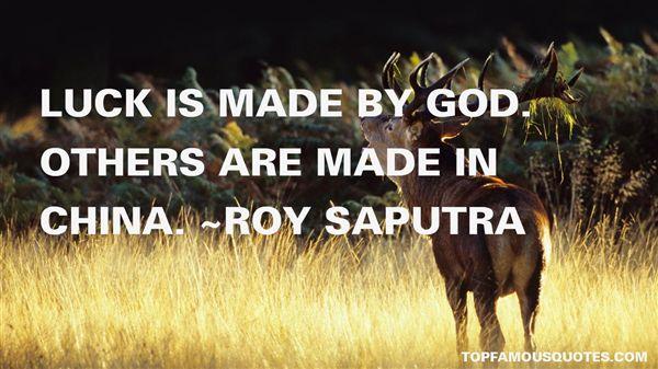 Roy Saputra Quotes