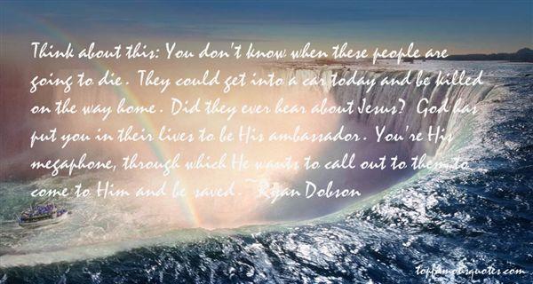 Ryan Dobson Quotes