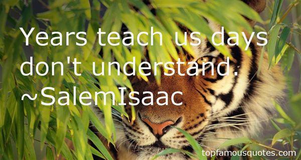 SalemIsaac Quotes
