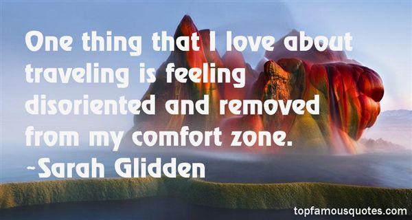 Sarah Glidden Quotes