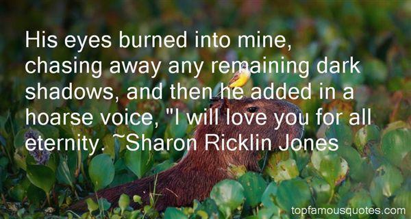 Sharon Ricklin Jones Quotes