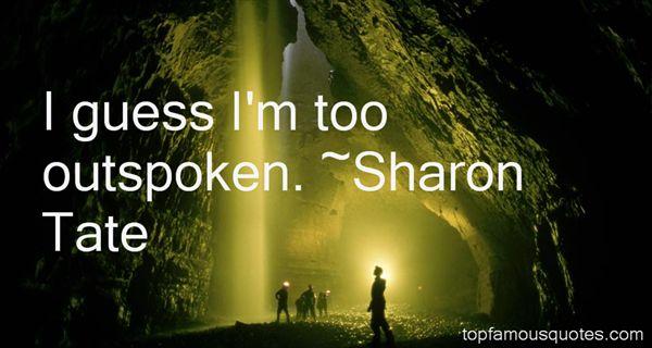 Sharon Tate Quotes