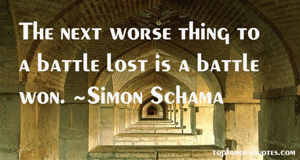 Simon Schama Quotes