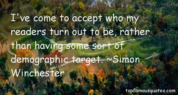 Simon Winchester Quotes
