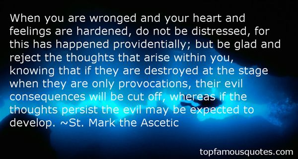 St. Mark The Ascetic Quotes